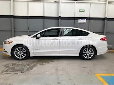 Foto Ford Fusion 4p SE Luxury Hibrido Aut usado (2017) color Blanco precio $350,000