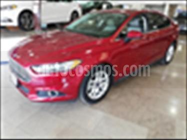 Foto venta Auto usado Ford Fusion S 2.5L L4 (2015) color Rojo precio $199,900