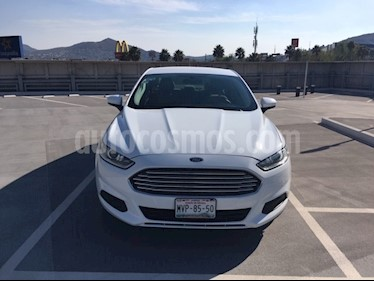 Foto venta Auto usado Ford Fusion S (2015) color Blanco Oxford precio $185,000