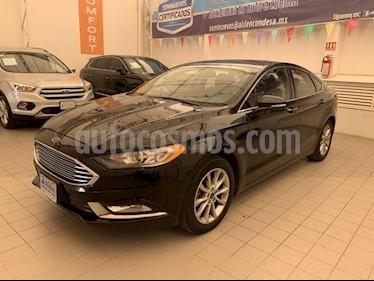 Foto venta Auto Seminuevo Ford Fusion SE ADVANCE NAV 2.5L I4 (2017) color Negro precio $330,000