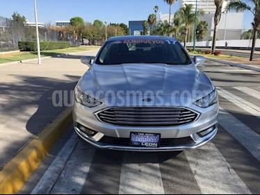 Foto venta Auto usado Ford Fusion SE ADVANCE NAV 2.5L I4 (2017) color Plata precio $329,000