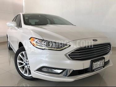 Foto venta Auto usado Ford Fusion SE Advance Nav (2017) color Blanco Platinado precio $289,000