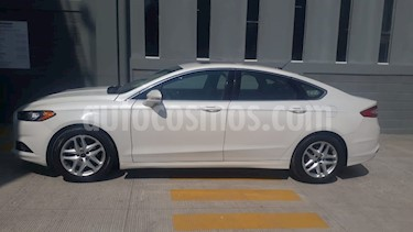 Foto venta Auto usado Ford Fusion SE Advance (2016) color Blanco Oxford precio $215,000