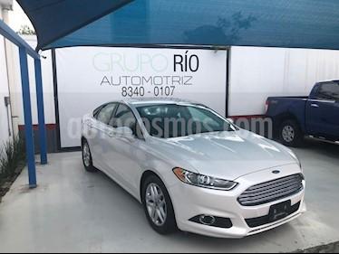 Foto venta Auto usado Ford Fusion SE Aut (2015) color Blanco precio $188,800