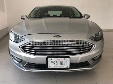 Foto venta Auto usado Ford Fusion SE Hibrido (2017) color Plata Estelar precio $349,900