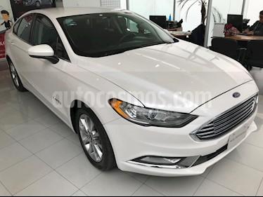 Foto venta Auto Seminuevo Ford Fusion SE Hibrido (2017) color Blanco precio $370,000