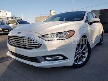 Foto venta Auto usado Ford Fusion SE Hibrido (2017) color Blanco Oxford precio $380,000