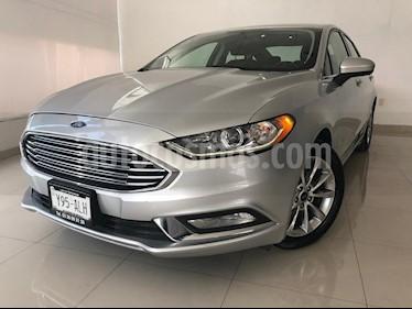 Foto venta Auto usado Ford Fusion SE Hibrido (2017) color Plata precio $359,900