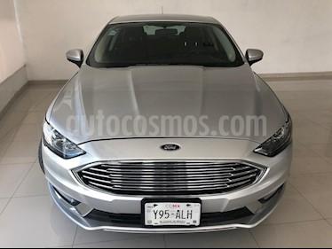 Foto venta Auto usado Ford Fusion SE Hibrido (2017) color Plata Estelar precio $379,900