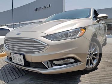Foto venta Auto usado Ford Fusion SE LUX Hibrido (2017) color Oro Blanco precio $400,000