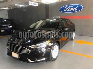 Ford Fusion SE LUX Hibrido usado (2019) color Negro precio $623,800