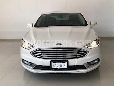 Foto venta Auto usado Ford Fusion SE LUX Hibrido (2017) color Blanco Platinado precio $414,900
