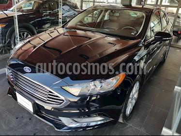 Foto venta Auto Seminuevo Ford Fusion SE LUX Hibrido (2017) color Negro Profundo precio $371,000
