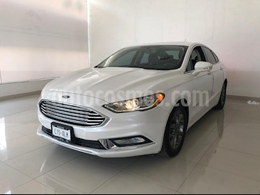Foto venta Auto usado Ford Fusion SE LUX Hibrido (2017) color Blanco Platinado precio $409,900
