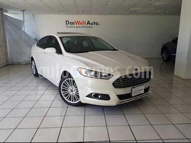 Foto venta Auto usado Ford Fusion SE Luxury Plus (2016) color Blanco Oxford precio $264,900