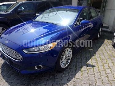 Foto venta Auto usado Ford Fusion SE Luxury Plus (2014) color Azul precio $215,000