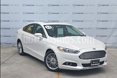 Foto Ford Fusion SE Luxury Plus usado (2014) color Blanco Platinado precio $190,000