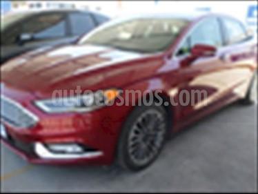 Foto Ford Fusion SE Luxury Plus usado (2017) color Rojo precio $370,000