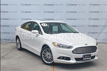 Foto venta Auto usado Ford Fusion SE Luxury Plus (2014) color Blanco Platinado precio $230,000