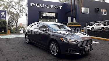 Foto venta Auto usado Ford Fusion SE Luxury Plus (2016) color Gris Nocturno precio $232,900