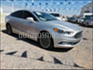 Ford Fusion SE Luxury Plus usado (2017) color Plata precio $380,000