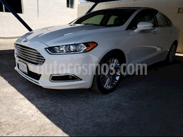 Ford Fusion SE Luxury Plus usado (2016) color Blanco Platinado precio $255,000