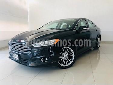 Foto venta Auto usado Ford Fusion SE Luxury (2014) color Negro precio $189,900