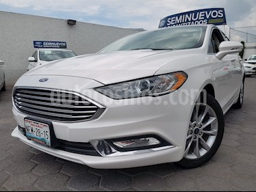 Foto Ford Fusion SE Luxury usado (2017) color Blanco Oxford precio $320,000