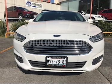 Foto venta Auto Seminuevo Ford Fusion SE Luxury (2016) color Blanco precio $259,000