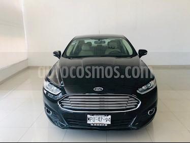 Foto venta Auto usado Ford Fusion SE Luxury (2014) color Negro Profundo precio $189,000