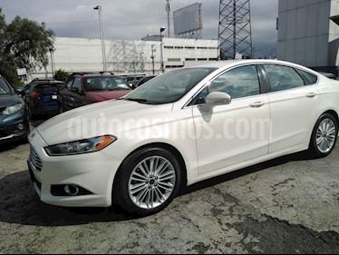 Ford Fusion SE Luxury usado (2016) color Blanco precio $245,000