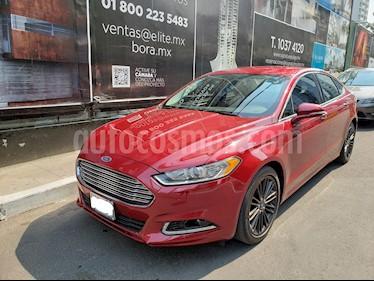 Ford Fusion SE Luxury usado (2014) color Rojo Rubi precio $190,000