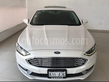 Foto venta Auto usado Ford Fusion SE (2017) color Blanco Platinado precio $304,900