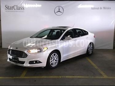 Foto venta Auto usado Ford Fusion SE (2015) color Blanco precio $219,000
