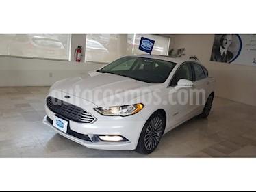 Foto venta Auto usado Ford Fusion Sedan SE LUX PLUS (2017) color Blanco precio $430,000