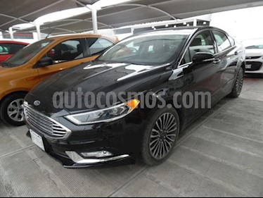 Foto venta Auto usado Ford Fusion Sedan SE LUX PLUS (2017) color Negro precio $350,000