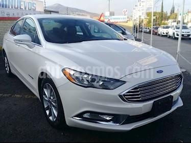 Foto venta Auto usado Ford Fusion Sedan SE LUX (2017) color Blanco precio $449,000