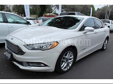 Foto venta Auto usado Ford Fusion Sedan SE (2017) color Blanco precio $350,000
