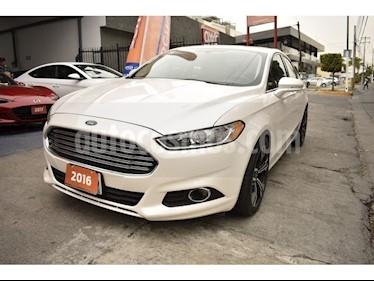 Foto venta Auto usado Ford Fusion Sedan SE (2016) color Blanco precio $255,000