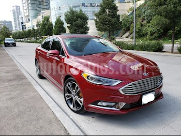 Ford Fusion Titanium Plus usado (2017) color Rojo Rubi precio $336,500