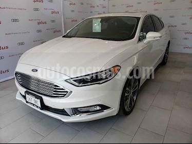 Foto venta Auto usado Ford Fusion Titanium Plus (2017) color Blanco precio $355,000