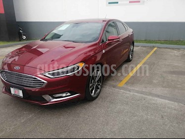 Foto venta Auto usado Ford Fusion Titanium Plus (2017) color Rojo precio $350,000