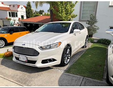 Ford Fusion Titanium Plus usado (2013) color Blanco Platinado precio $175,000