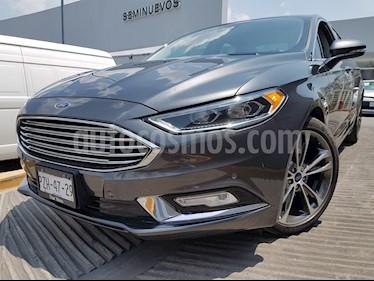 Ford Fusion Titanium usado (2017) color Gris precio $395,000