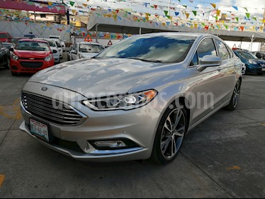 Foto venta Auto usado Ford Fusion Titanium (2017) color Plata Estelar precio $348,000