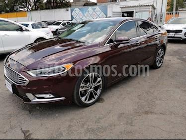 Foto venta Auto usado Ford Fusion Titanium (2017) color Vino Tinto precio $315,000