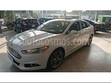 Foto venta Auto usado Ford Fusion Titanium (2016) color Blanco precio $275,000
