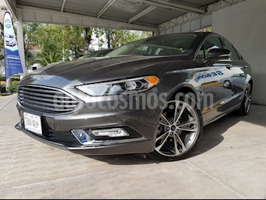 Foto venta Auto usado Ford Fusion Titanium (2017) color Gris precio $450,000