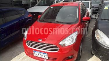Ford Ka + SE usado (2018) color Rojo Merlot precio $585.000