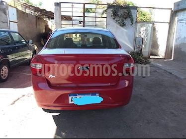 Ford Ka + SE usado (2017) color Rojo Merlot precio $590.000